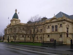 タスマニアの市役所