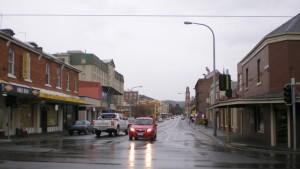 タスマニアの街並み